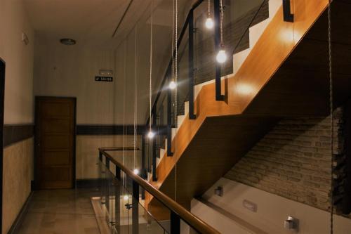 El vestíbulo o zona de recepción de Luxury Apartment Sierpes