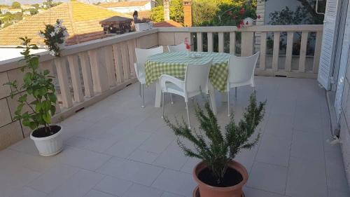 A balcony or terrace at Apartments Toncic