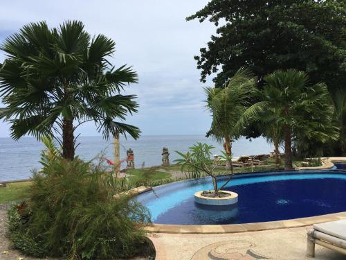 The swimming pool at or near Bali Dream House