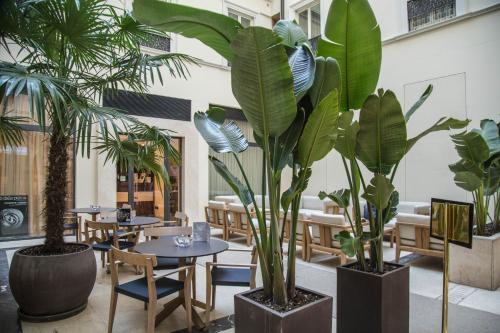 A restaurant or other place to eat at Worldhotel Cristoforo Colombo