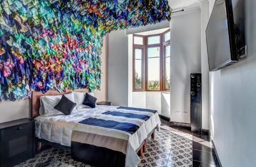 Cama o camas de una habitación en Casa Puente Hotel Boutique
