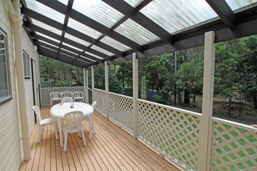 A balcony or terrace at Surfer's Rest in Berrara