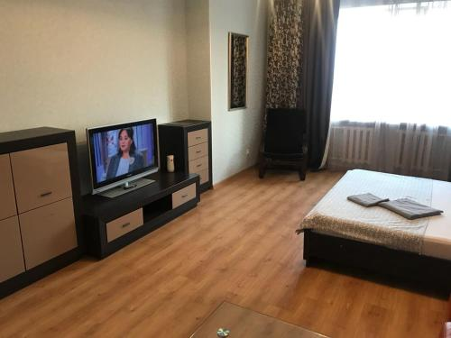 A television and/or entertainment center at Бан