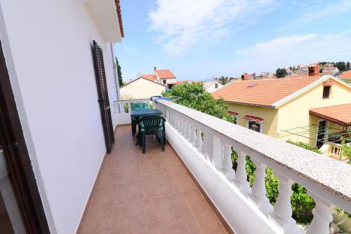 A balcony or terrace at Apartments Ana