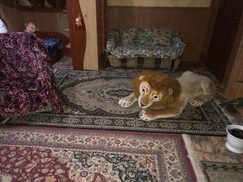 Pet or pets staying with guests at Vacation home on ulitsa Lienina 5