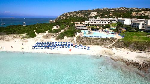 Vista aerea di Colonna Grand Hotel Capo Testa