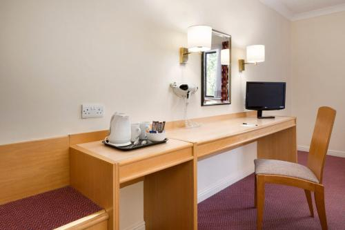 A television and/or entertainment center at Days Inn Tewkesbury