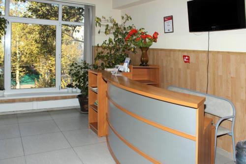 Лобби или стойка регистрации в K-54 Hotel