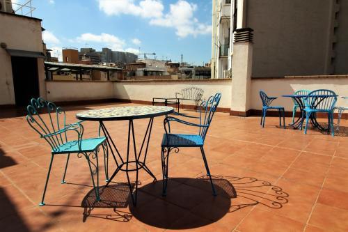 Un balcon sau o terasă la Apartaments St. Jordi Comtal