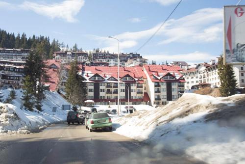 Laplandia Hotel during the winter