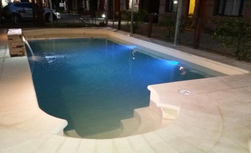 The swimming pool at or near Complejo Vacacional Sol y Lago