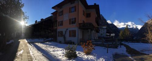 Tre Alberi Liberi during the winter