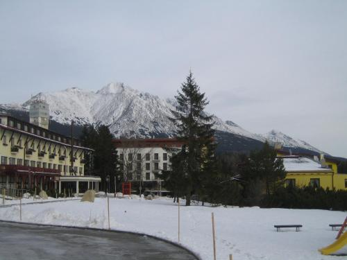 Apartman Panorama 329 during the winter