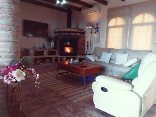 Zona de estar de Villa Emma