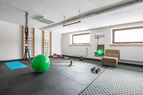 Centrum fitness w obiekcie Chata Biegacza K34