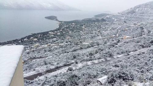 Skroponeria View Apartments зимой