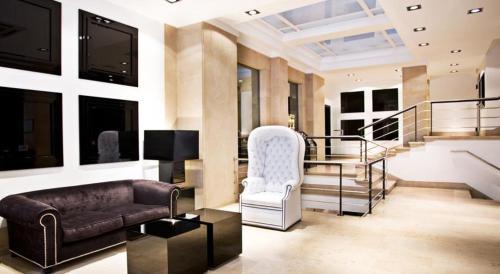 Area soggiorno di Hotel Clarin