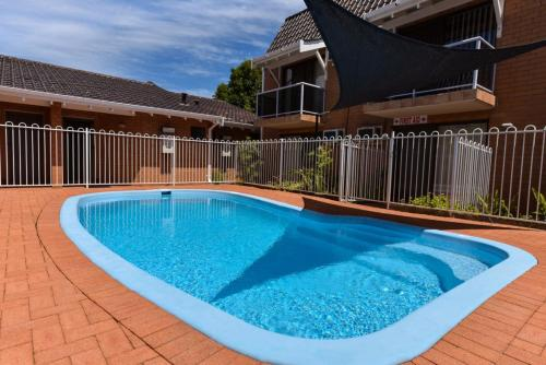 The swimming pool at or near Sanno Marracoonda Perth Airport Hotel