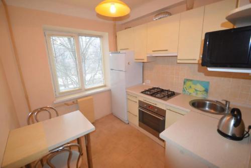 Kuchnia lub aneks kuchenny w obiekcie Guest house Otradny for 3 rooms