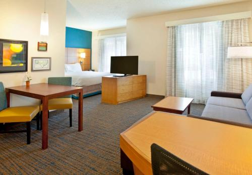 A television and/or entertainment center at Residence Inn Bridgewater Branchburg