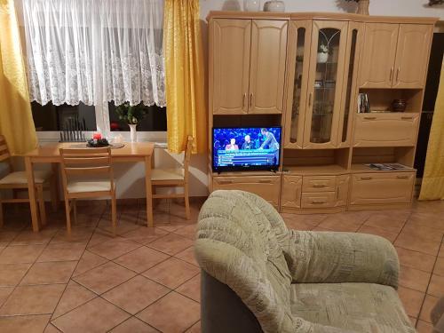 TV/Unterhaltungsangebot in der Unterkunft FeWo am Moorteich