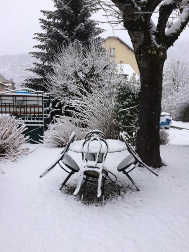 L'établissement Hôtel La Grande Cordée en hiver