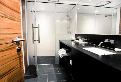 A bathroom at Pepis Skihotel
