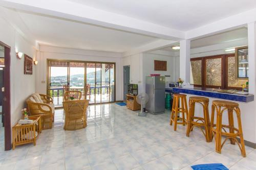 Lobbyen eller receptionen på Seaview Paradise Mountain Holiday Villas Resort