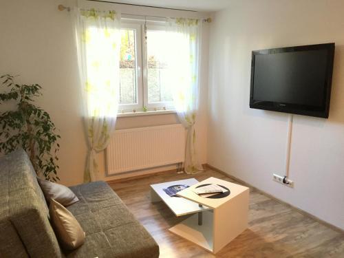 טלויזיה ו/או מרכז בידור ב-Gästehaus Dolce Vita