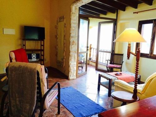 Гостиная зона в Finca Santa Catalina