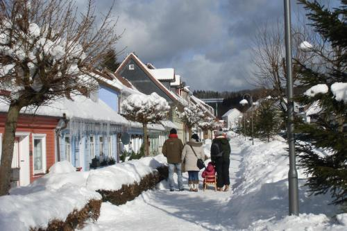 Tango-Pension im Winter