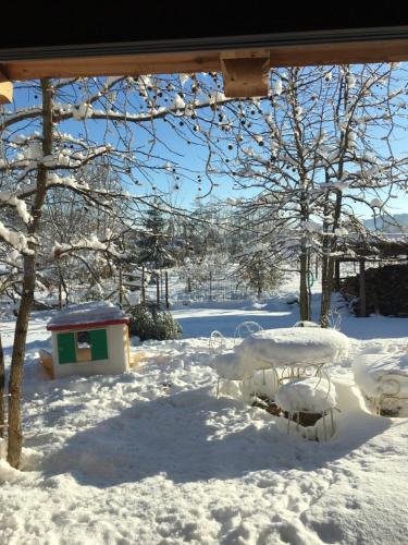 Agriturismo La Virginia durante l'inverno