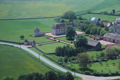 A bird's-eye view of Les Residences du Chateau de Vianges