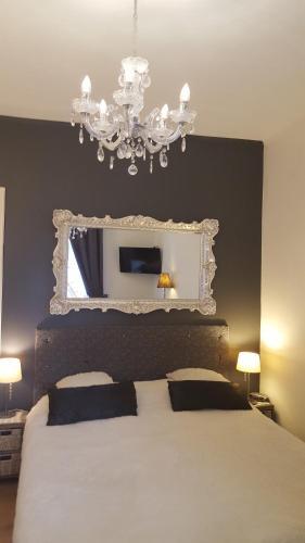 Ein Bett oder Betten in einem Zimmer der Unterkunft Pension Zee en Duinzicht