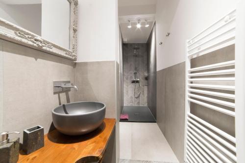 Un baño de Exclusive Apartment San Lorenzo