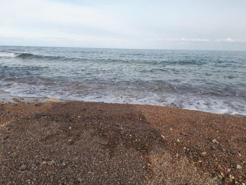 Пляж на территории кемпинга или поблизости
