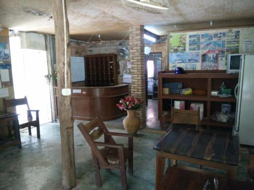 The lobby or reception area at Ao Nang Garden Home Resort