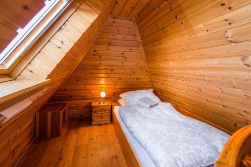Ein Bett oder Betten in einem Zimmer der Unterkunft Little Paradise - Retreat- and Meditation Center