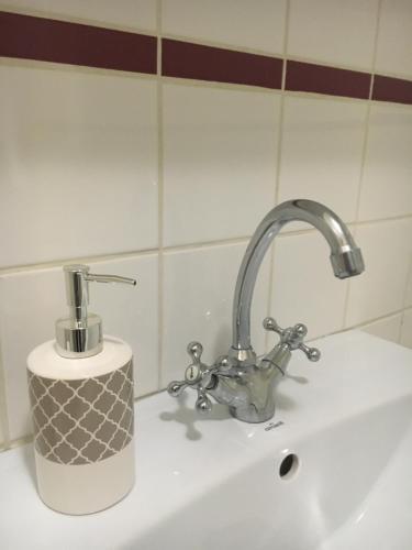 Salle de bains dans l'établissement Résidence Amiens hyper Centre