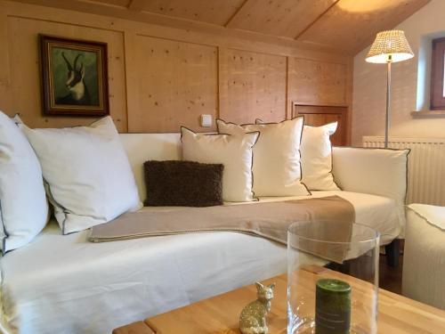 Ein Bett oder Betten in einem Zimmer der Unterkunft Landhaus Berktold