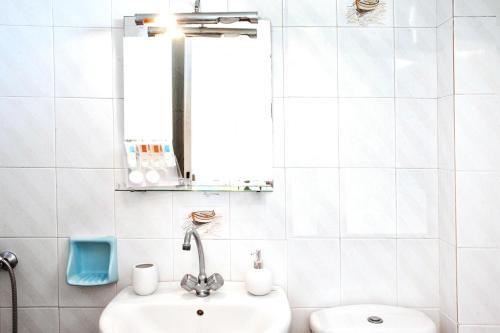 Ένα μπάνιο στο Poseidon Villas
