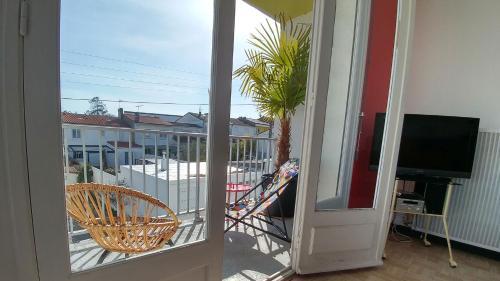 Balcon ou terrasse dans l'établissement CasaModernista