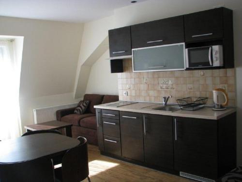Kuchnia lub aneks kuchenny w obiekcie Apartamenty Pod Różami
