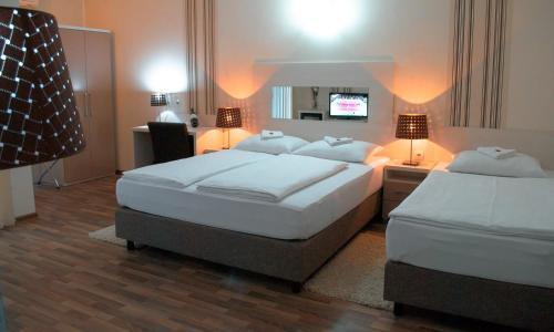 Krevet ili kreveti u jedinici u okviru objekta Vila DeLux