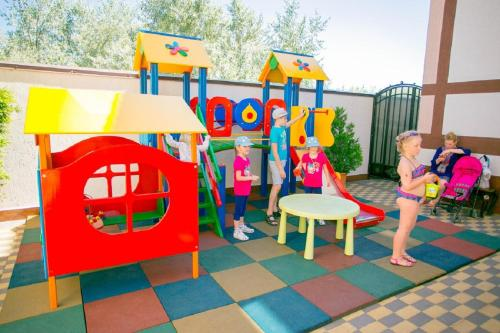 Children's play area at Hotel Venera 4