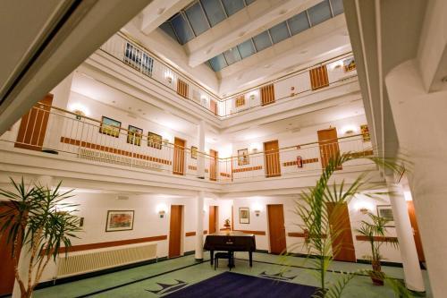 Lobby/Rezeption in der Unterkunft Hotel Kaiserhof