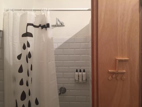 Un baño de Slow City Hostel Pontevedra