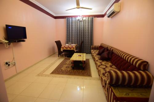 منطقة جلوس في Al Hedayet Intl Hotel