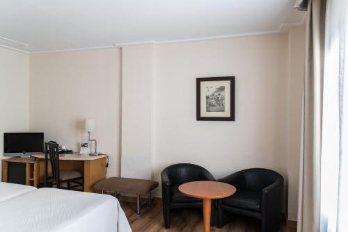 Zona de estar de Hotel Inglaterra
