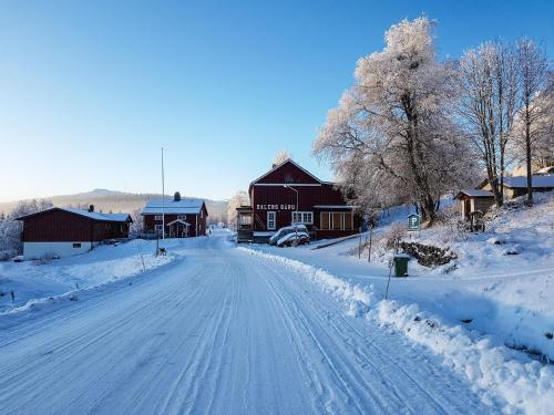 Dalens Gård Mountain Lodge under vintern